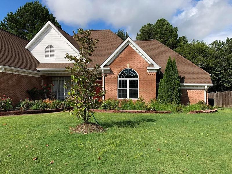 Brick siding is a timeless type of siding for houses