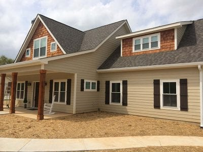 Newly Constructed Home With Siding And Windows In Chattanooga
