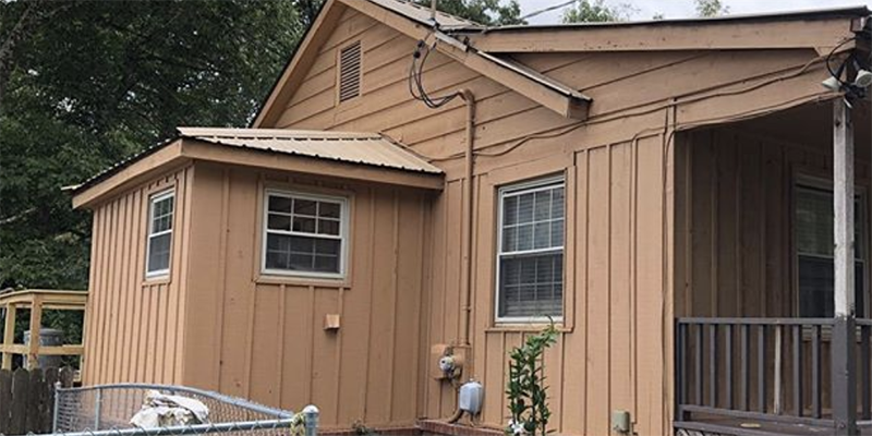 Exterior Painting Job Completed In Chattanooga