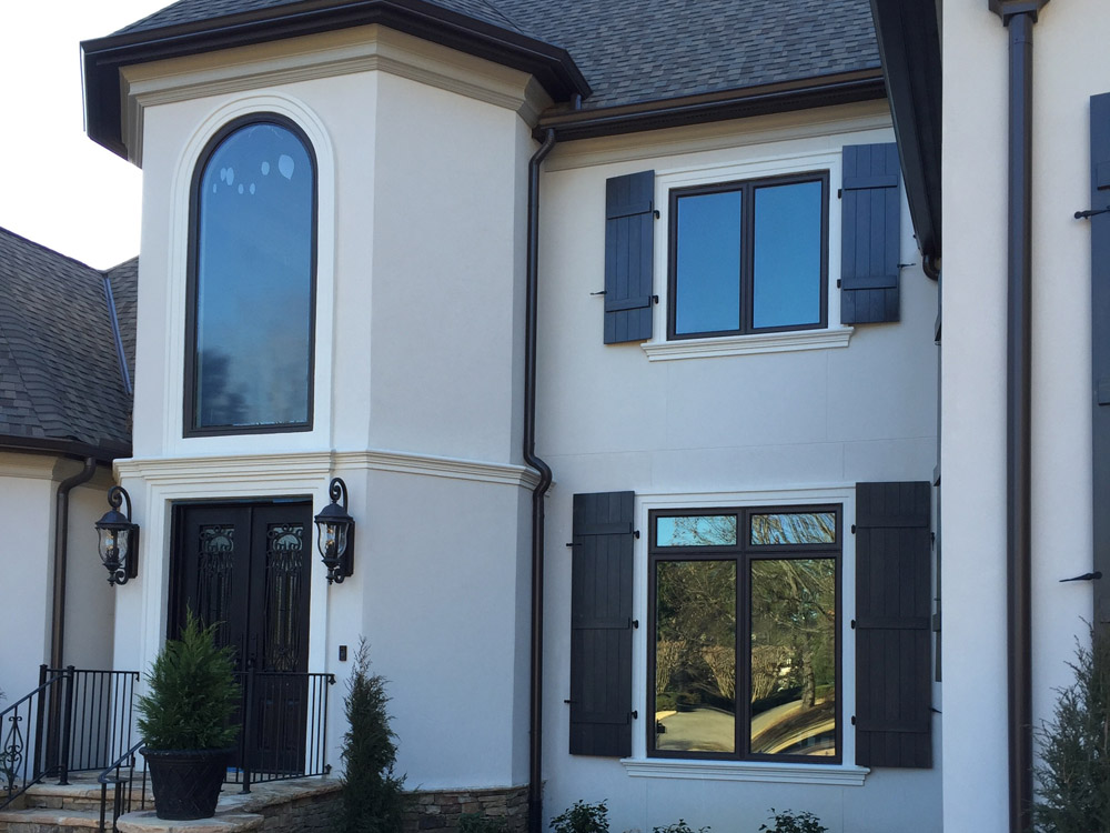 Newly installed windows on home in Chattanooga