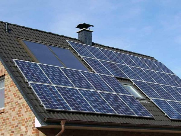 Solar panel energy efficiency upgrades for home
